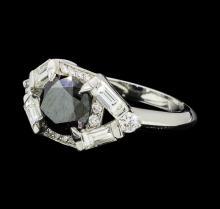 1.90 ctw Diamond Ring - Platinum