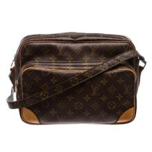 Louis Vuitton Monogram Canvas Leather Nile GM Shoulder Bag