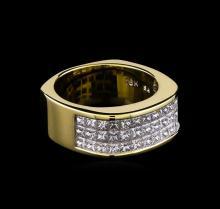 3.00 ctw Diamond Ring - 18KT Yellow Gold