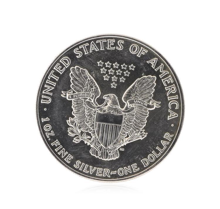 1991 American Silver Eagle Dollar Coin