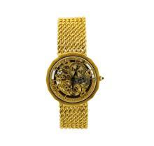 Vintage Vacheron Constantin 18KT Yellow Gold Skeleton Watch