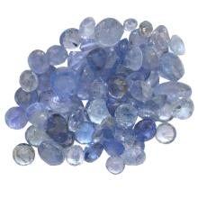 10.35 ctw Round Mixed Tanzanite Parcel
