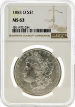 1883-O NGC MS63 Morgan Silver Dollar