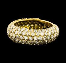 3.50 ctw Diamond Ring - 18KT Yellow Gold