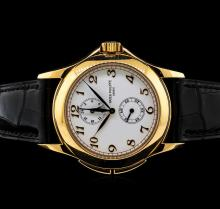 Patek Philippe 18KT Rose Gold Travel Time Watch