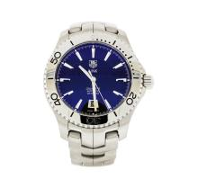 Tag Heuer Stainless Steel Link Caliber 5 Watch