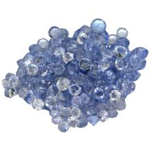 12.62 ctw Round Mixed Tanzanite Parcel