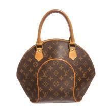 Louis Vuitton Monogram Canvas Leather Ellipse PM Bag