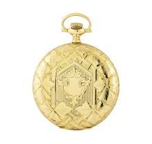 Vintage Elgin Pocket Watch - 14KT Yellow Gold