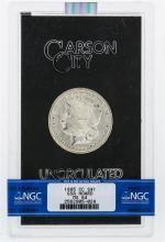 1885-CC NGC MS64 Morgan Silver Dollar