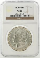 1898-O NGC MS63 Morgan Silver Dollar