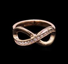 0.21 ctw Diamond Ring - 14KT Rose Gold