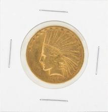 1910S $10 Indian Head Gold Coin VF