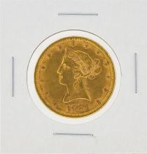 1881 $10 AU Liberty Head Eagle Gold Coin