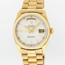 Rolex 18KT Yellow Gold President DayDate Men's Wristwatch