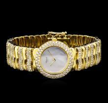 Chopard 18KT Yellow Gold 5.00 ctw Diamond Ladies Watch