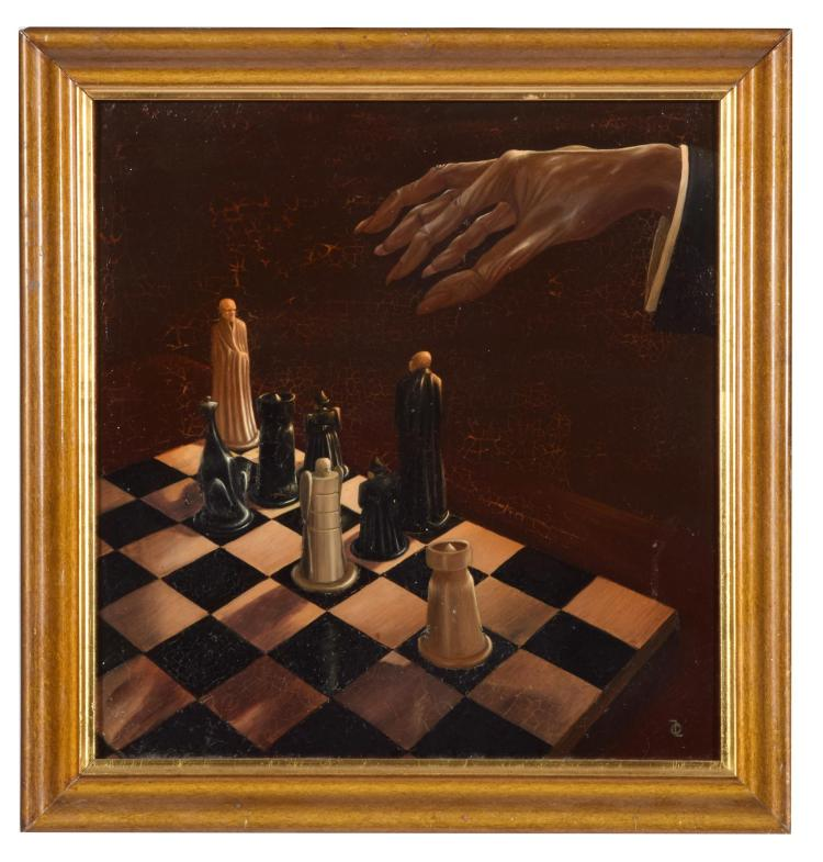 SURREALIST CHESS GAME.
