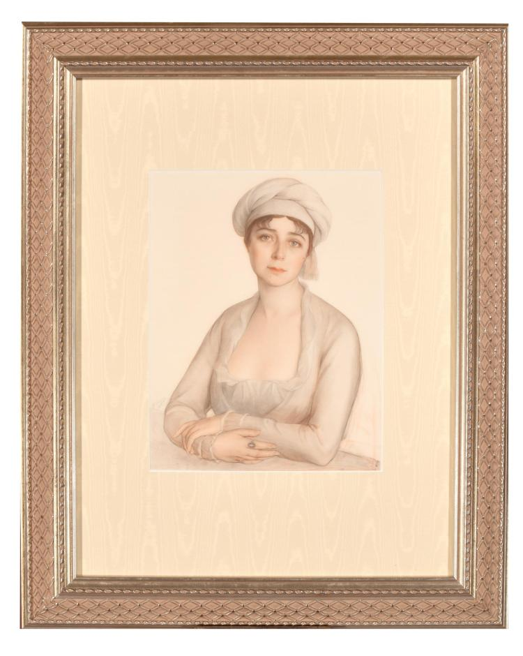PORTRAIT OF A WOMAN (CONTINENTAL SCHOOL, EARLY 20TH CENTURY).
