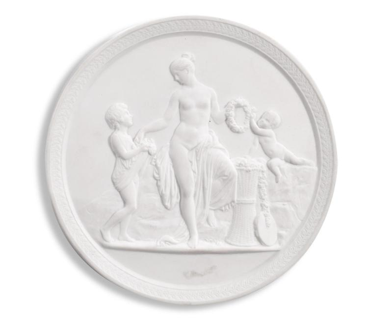 ROYAL COPENHAGEN PARIAN MEDALLION.