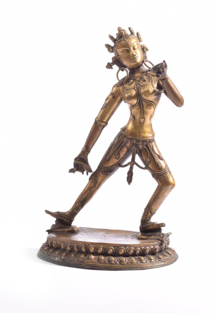 BRONZE FIGURE OF NARO DAKINI.