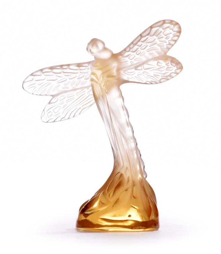 LALIQUE DRAGONFLY.