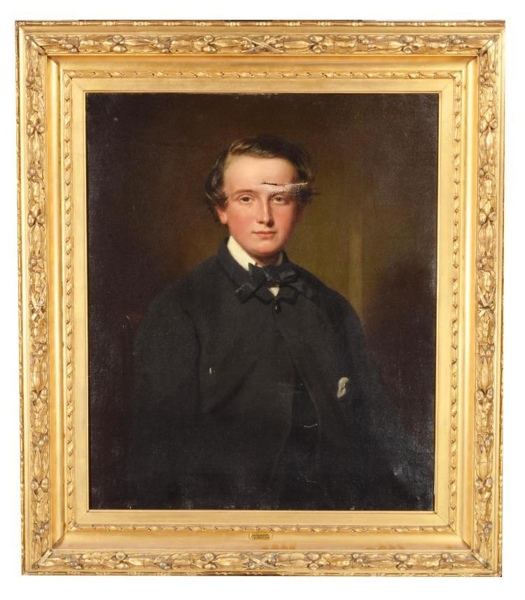 PORTRAIT OF PATRICK ORD (BRITISH, MID-LATE 19TH CENTURY).