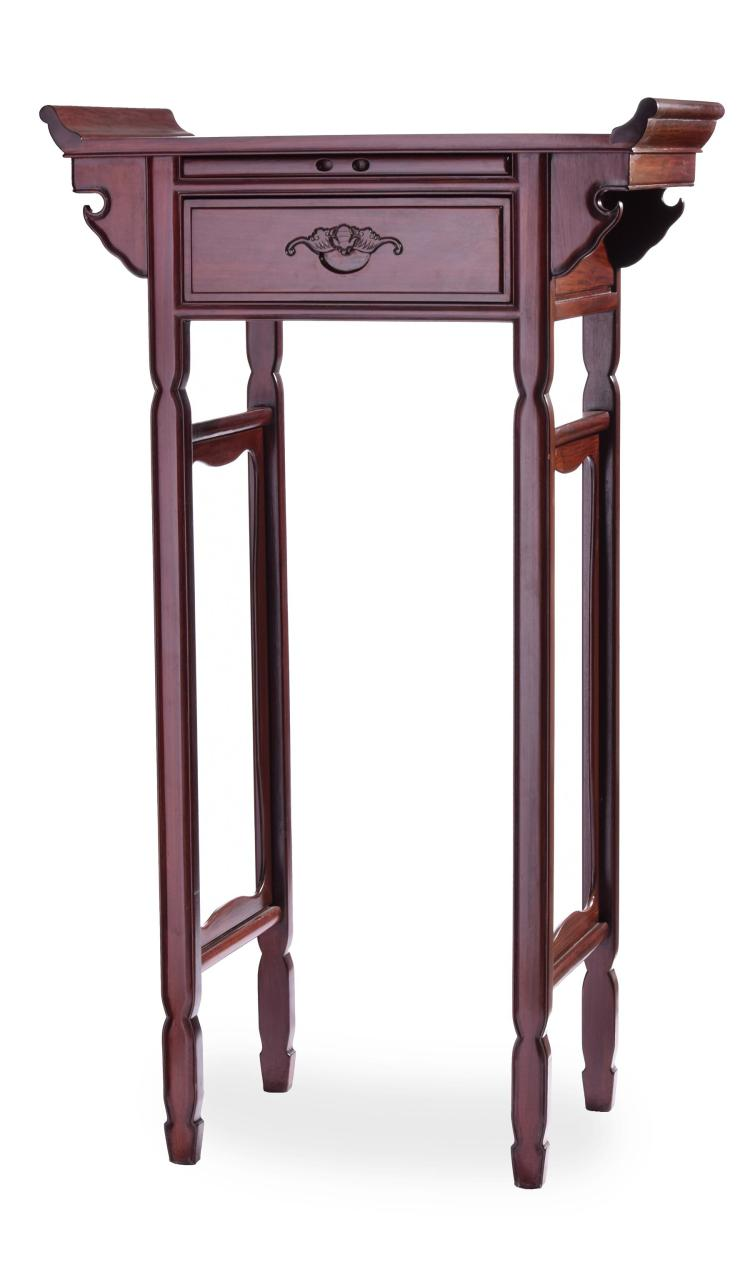 CHINESE ALTAR TABLE.