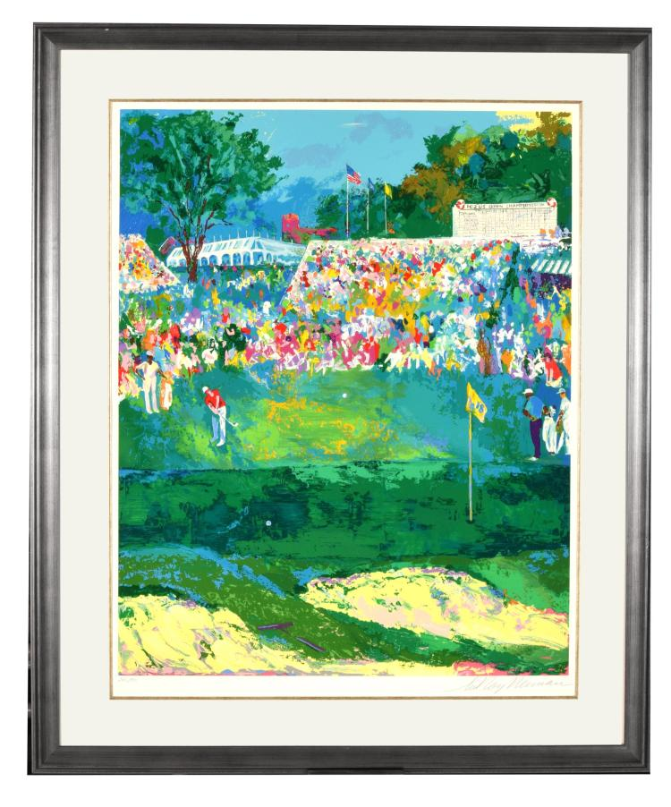 102ND US OPEN BY LEROY NEIMAN (AMERICAN, 1921-2012).