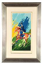 THE EQUESTRIANNE BY LEROY NEIMAN (AMERICAN, 1921-2012).