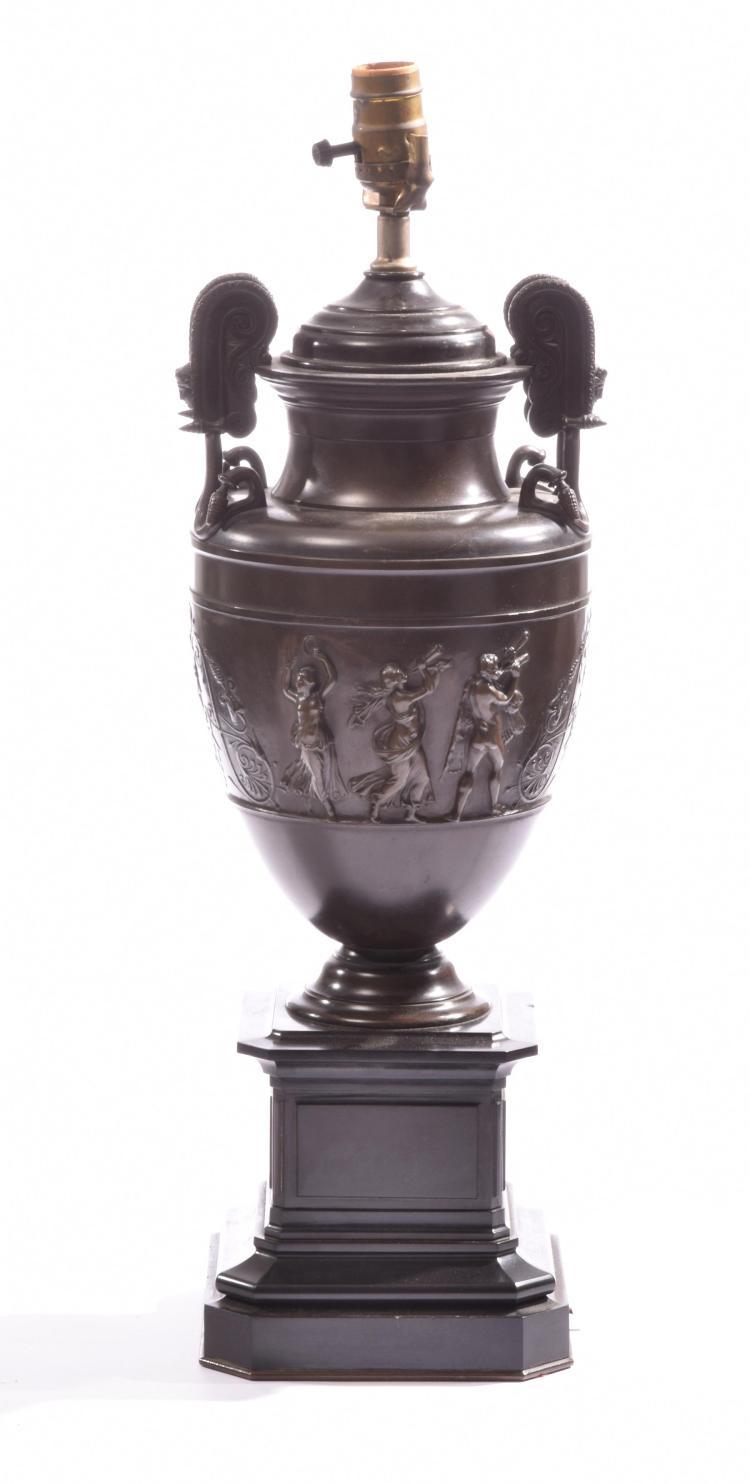 Fine Greco Roman Style Bronze Urn
