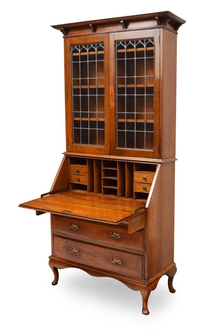 SECRETARY BOOKCASE.