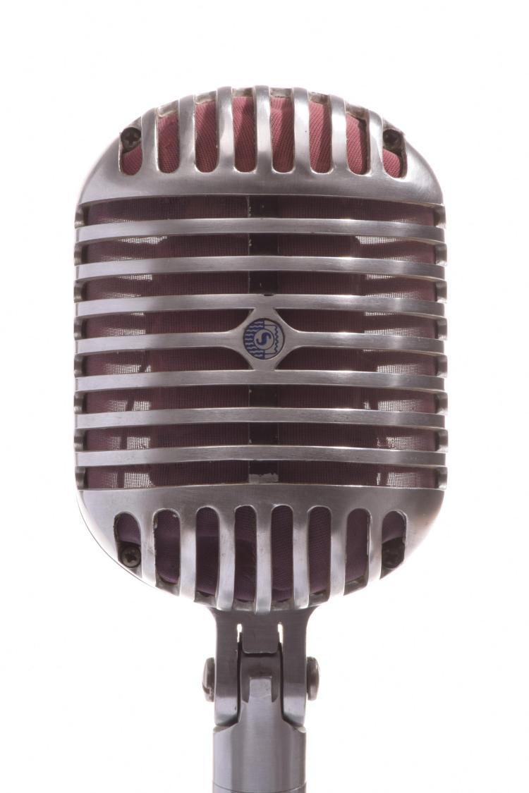 Vintage 1940 S Shure Unidyne Quot 55 Fatboy Quot Dynamic Microphone