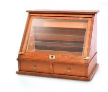 TABLE TOP DISPLAY CABINET.