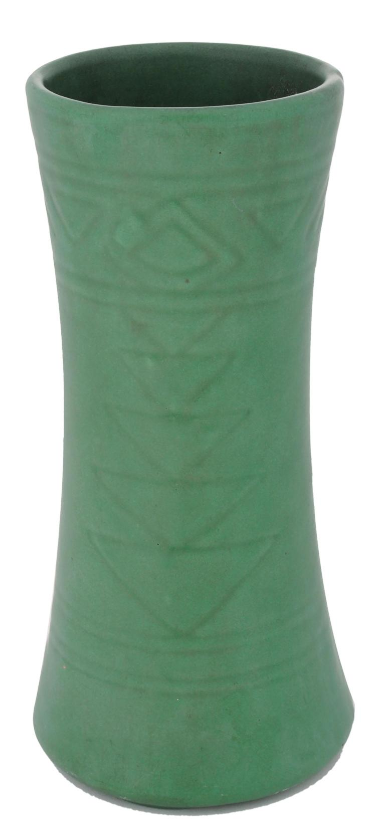 Arts crafts style art pottery vase for Arts and crafts vases pottery