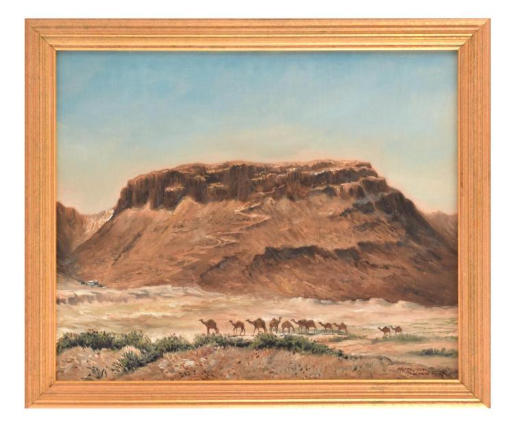 MASADA BY JOSEPH SHEPPARD (AMERICAN, B. 1930).