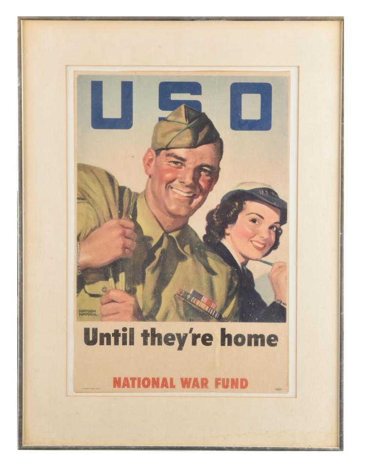 NATIONAL WAR FUND POSTER (AMERICAN, MID 20TH CENTURY).