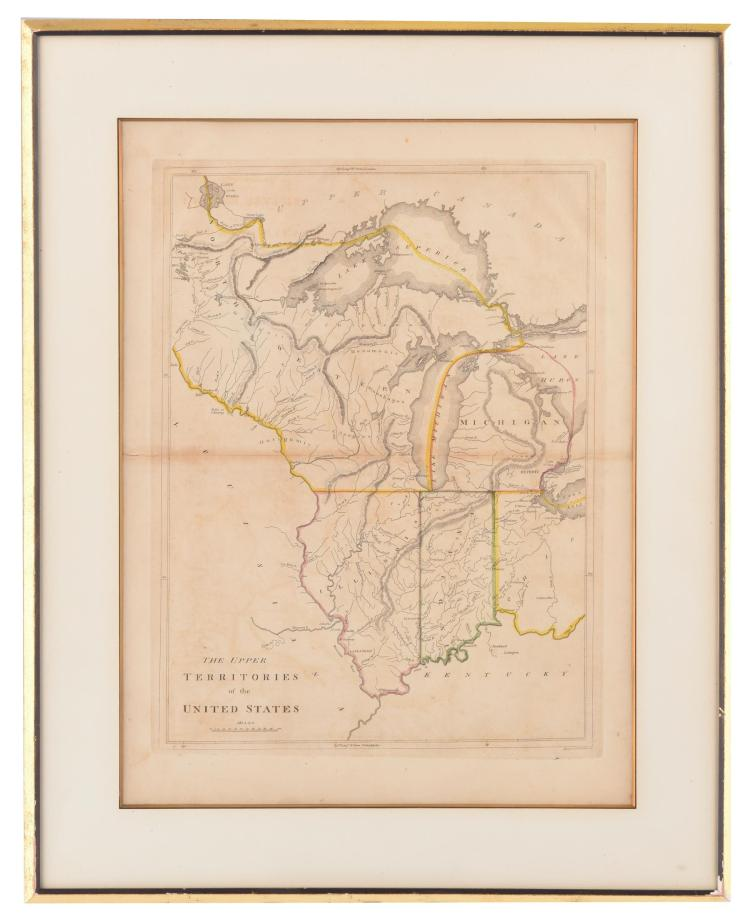THE UPPER TERRITORIES OF THE UNITED STATES BY WILLIAM KNEASS (AMERICAN, 1781-1840).