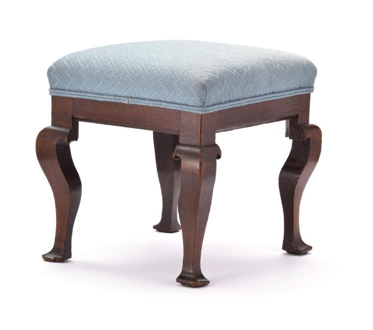OAK FOOTSTOOL