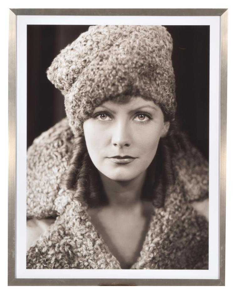 GRETA GARBO BY GEORGE HURRELL (AMERICAN, 1904-1992).