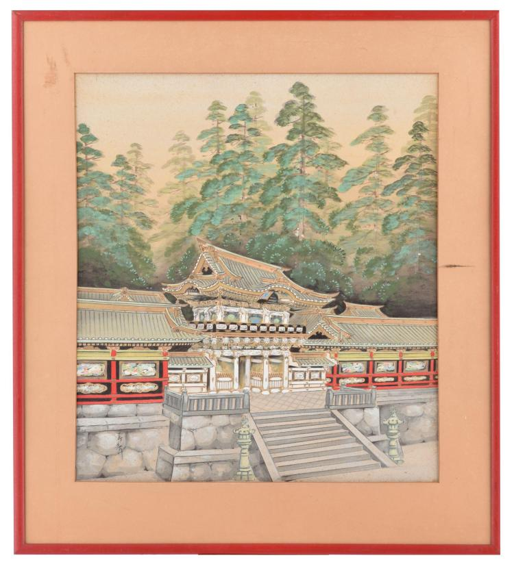 JAPANESE TEMPLE PAINTING (EARLY-MID 20TH CENTURY).