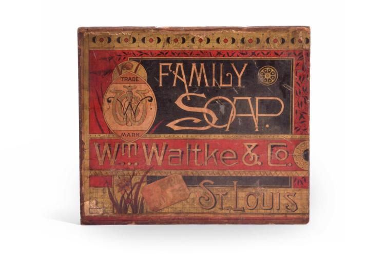 ST. LOUIS FAMILY SOAP ADVERTISING BLOCK
