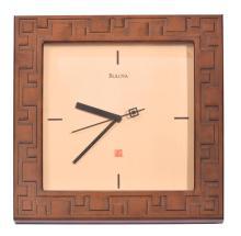 FRANK LLOYD WRIGHT CLOCK BY BULOVA.