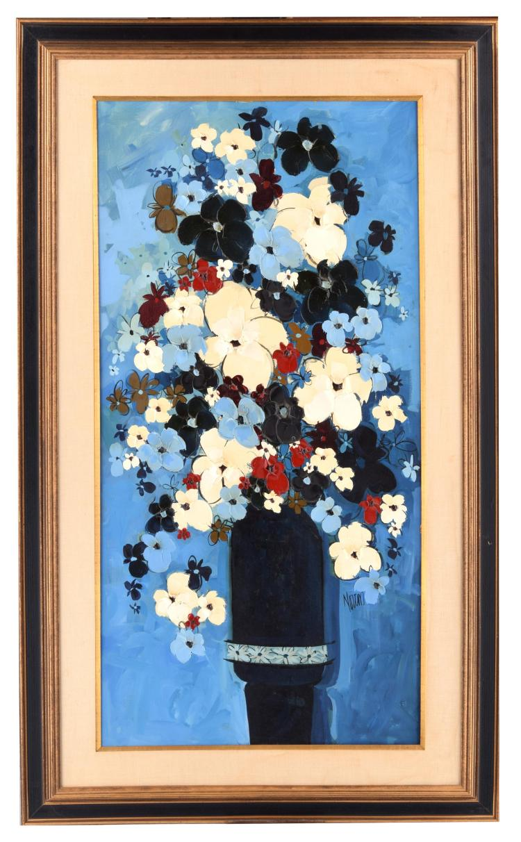 FLOWER PAINTING (AMERICAN SCHOOL, MID-20TH CENTURY).