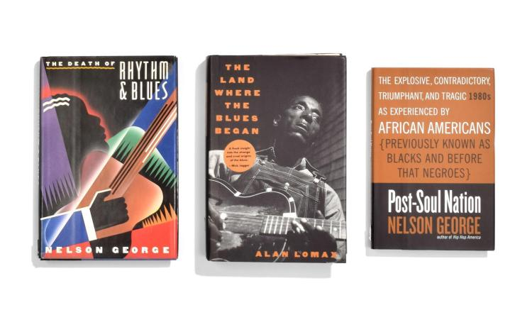 COLLECTION OF BOOKS ON AFRICAN-AMERICANS IN ENTERTAINMENT.