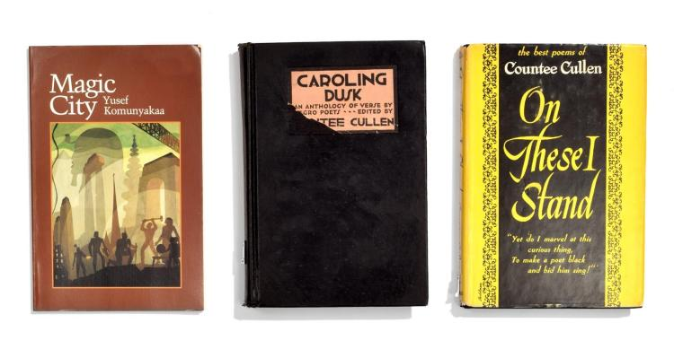 COLLECTION OF WORKS BY AFRICAN-AMERICAN POETS.