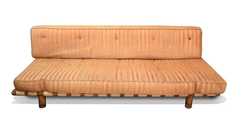 SOFA BY T.H. ROBSJOHN GIBBINGS FOR WIDDICOMB.
