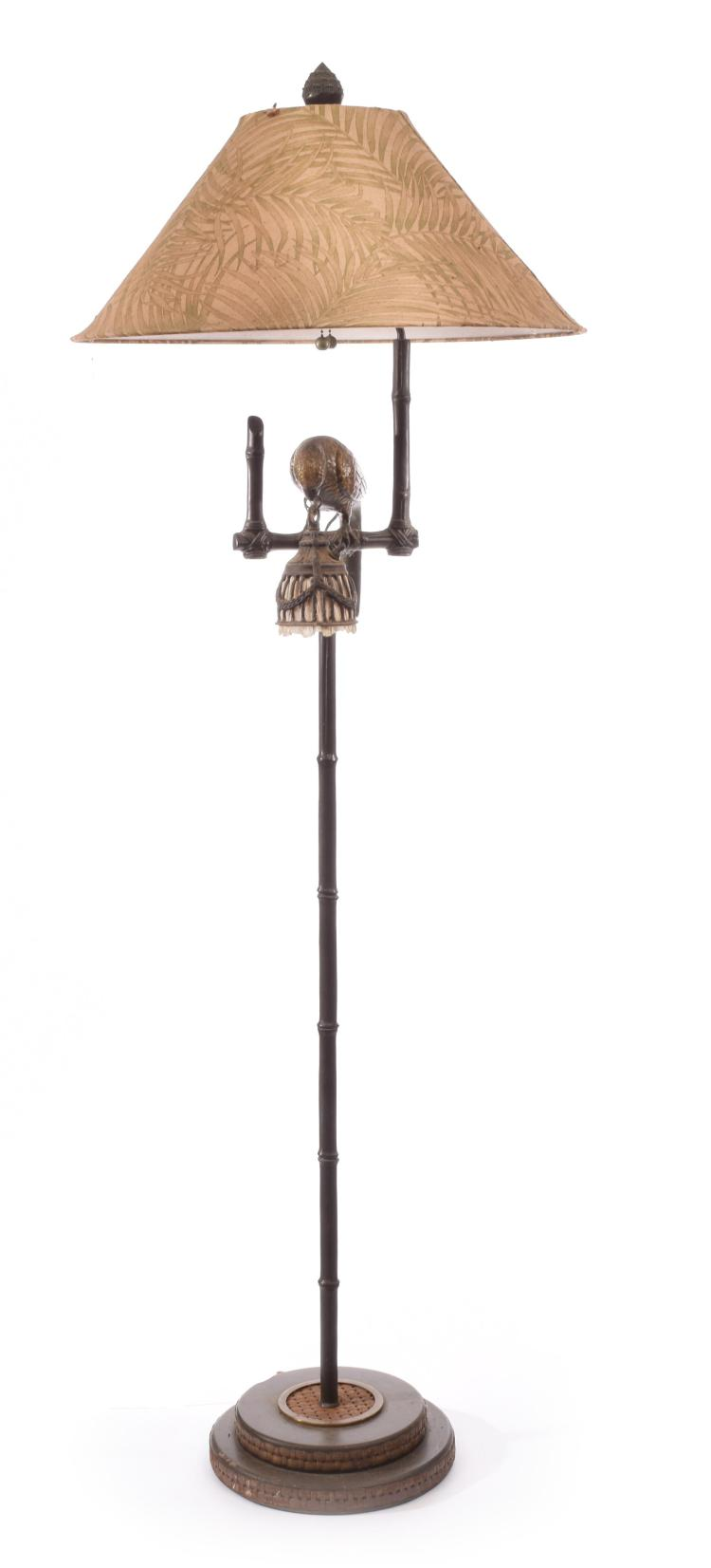 MAITLAND-SMITH PARROT FLOOR LAMP.