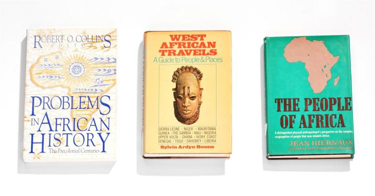 SIX BOOKS ON AFRICAN CULTURE, ART, AND HISTORY.