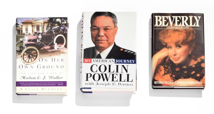 COLLECTION OF BIOGRAPHIES BY AFRICAN-AMERICAN AUTHORS.