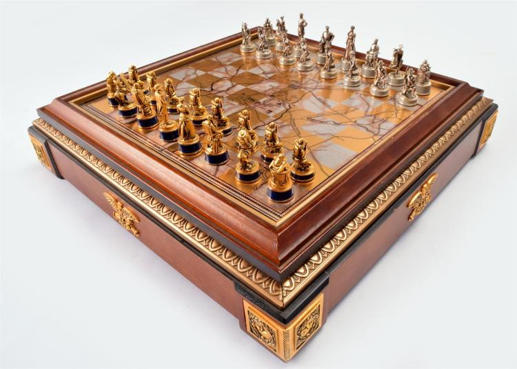 FRANKLIN MINT CHESS SET.